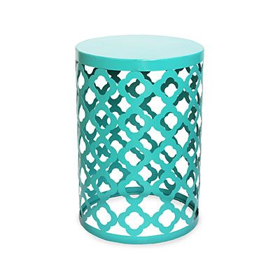 30 Wilson Fisher 14 Turquoise Garden Table at Big Lots