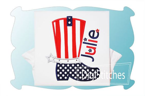 GIRL - Red, White and Blue COWBOY BOOT... shirt  in 4 styles -  Youth sizes... over 36 colors in T-shirts and baby bodysuits also available.