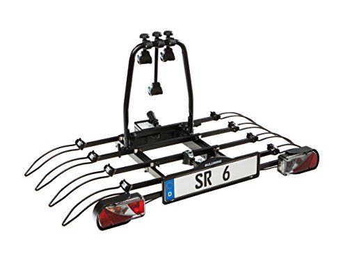 Bullwing Sr6 Fahrradtrager Fur Anhangerkupplung Hecktrager Mit Schnellverschluss Abklappmechanismus Diebstahlschutz