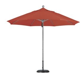 Market Umbrellas are used in public areas such as restaurants or cafes as well as in homes. They do not have valances, but they do feature a more straight sleek edge.