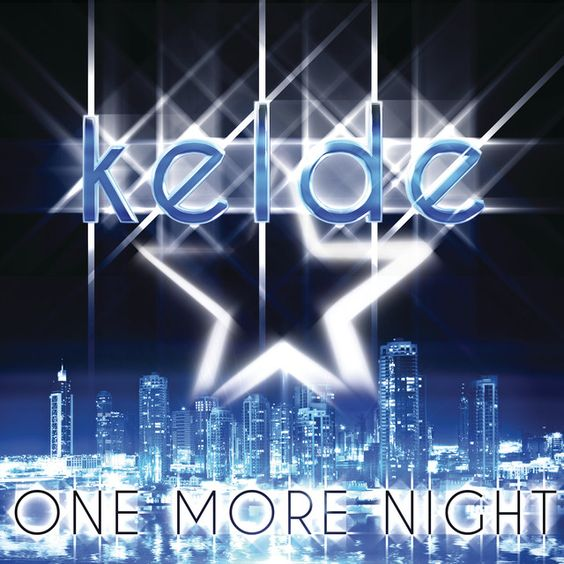 Kelde – One More Night (single cover art)