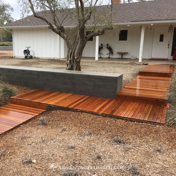24x48 Ipe Decktiles Are Perfect For Ground Level Applications Because They Are Designed To Resist Warping Caused B How To Level Ground Ipe Decking Deck Tiles