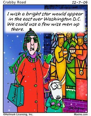 maxine jokes | Holiday Humor from Maxine! Laugh Until Christmas-14 Days and Counting ...