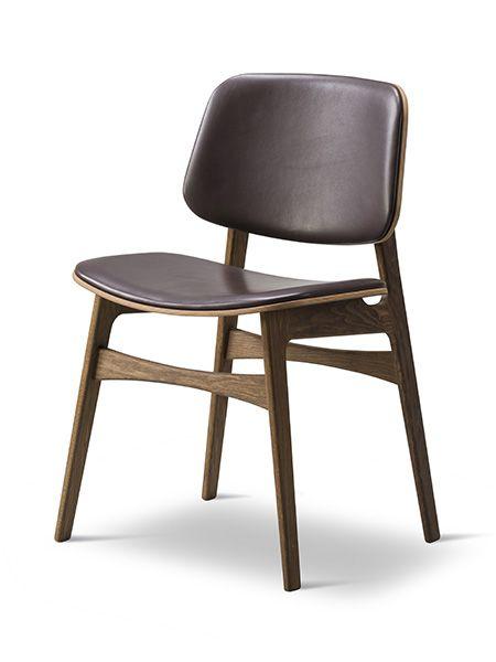 Chaise En Bois Soborg Design Borge Mogensen Chaises Bois Chaise Design Chaise