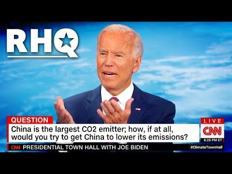 Biden Melts Down At Cnn S Climate Town Hall Youtube In 2020 Town Hall Mental Conditions Cnn