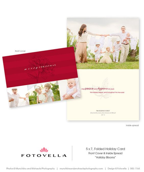 Christmas cards holiday and photoshop on pinterest for Christmas cards templates for photoshop