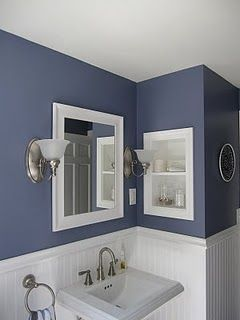"""""""Tranquil Pond"""" from the Behr Premium Plus Ultra line. Paint color for bathroom?"""