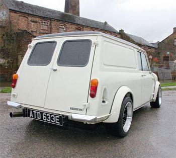 1967 White Austin Mini Van Modified | Cars And Such | Pinterest ...