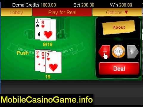 Real Money Blackjack   iPhone Casino Game Bonuses