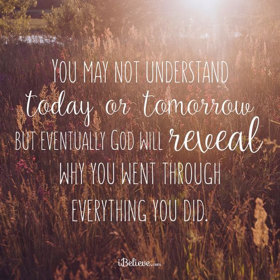 This happens in my life all of the time. I'm so grateful God is in my life because He always knows what is best for me and always has perfect timing!