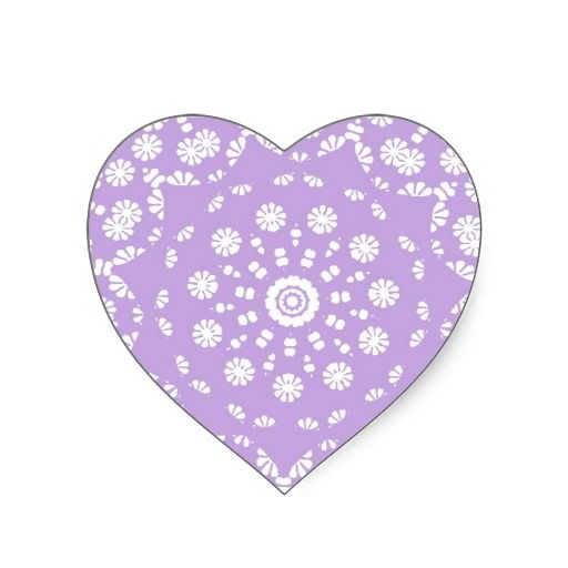Pretty Lilac White Delegate Lace Pattern  Such a pretty lacy white and lilac pattern, looks so delicate and pretty on these sticker labels. Ideal for making cup cake toppers or wedding decorations such as wedding favor labels