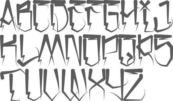 Myfonts Gangster Fonts En 2020 Disenos De Letras Tipos De