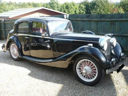 1937 Jaguar SS Saloon...Brought to you by #HouseofInsurance for #CarInsuranceinEugene