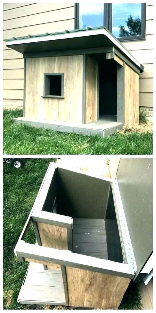 Insulated Dog Houses For Winter House Ideas Outdoor Plans