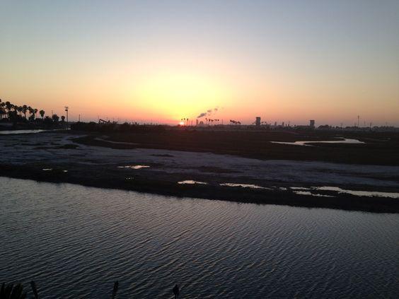Sunset in Newport Shores