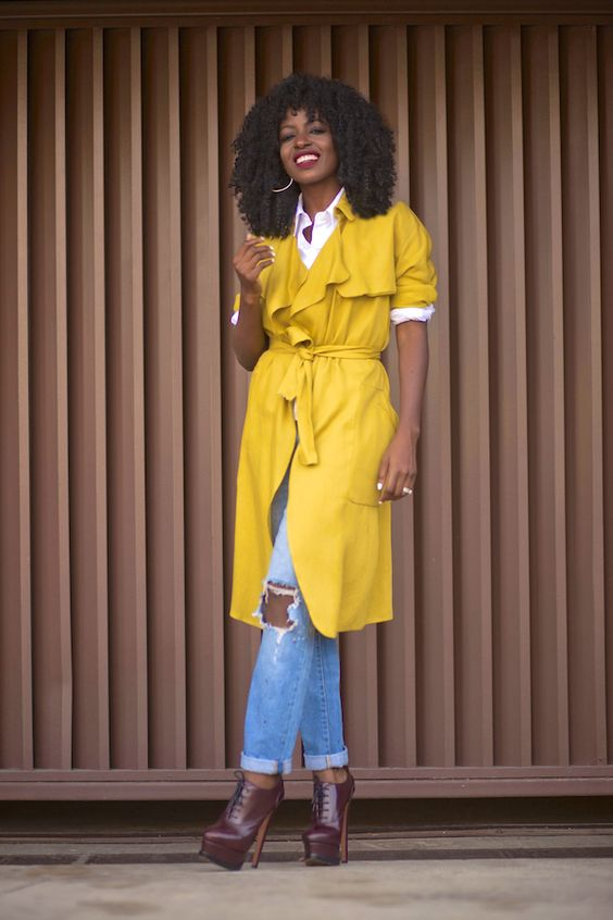 Style Pantry ~ Yellow Trench