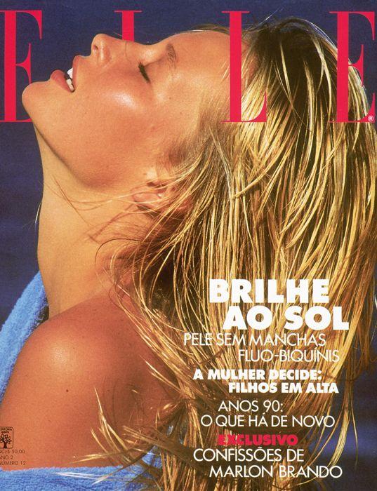 Estelle Lefebure - Elle Brasil 1989 by Marc Hispard