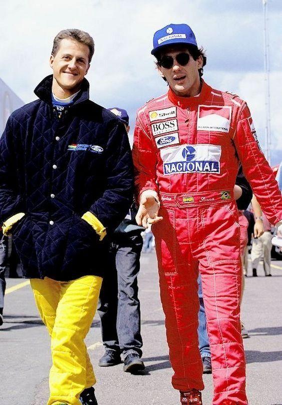 Fotos De Fatos On Twitter Ayrton Senna Michael Schumacher Ayrton