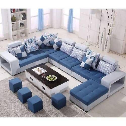 Harmony Reversible Sectional Sofa With Ottoman Luxury Sofa