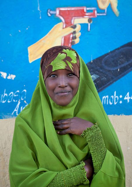 Young  Woman - Somalia: