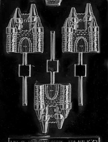 Castle Pop Candy Mold | Confectionery House