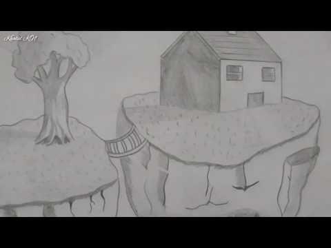رسم منظر جميل بطريقة رائعة سهل جدا قلم الرصاص Youtube Drowning