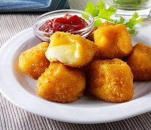 Image result for fried camembert with jam