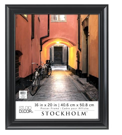 Black Poster Frame Stockholm By Studio Decor Frames On Wall Black Decor Decor