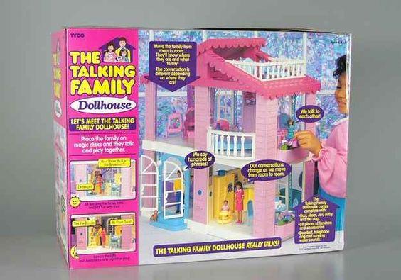Tyco's The Talking Family Dollhouse