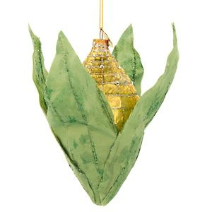 Adorable corn ornament.