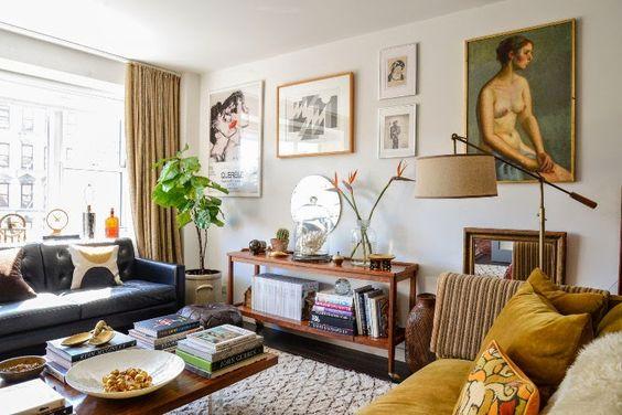 Antic&Chic. Decoración Vintage y Eco Chic: [Lugares con alma] Decorando un apartamento en el Soho de New York