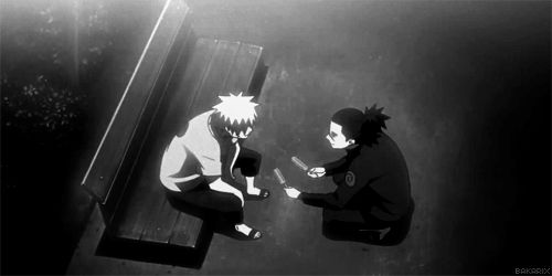 Don't be sad Naruto. Jiraiya might be gone but Iruka is still there. (This is the saddest part of Naruto Shippuden T^T)