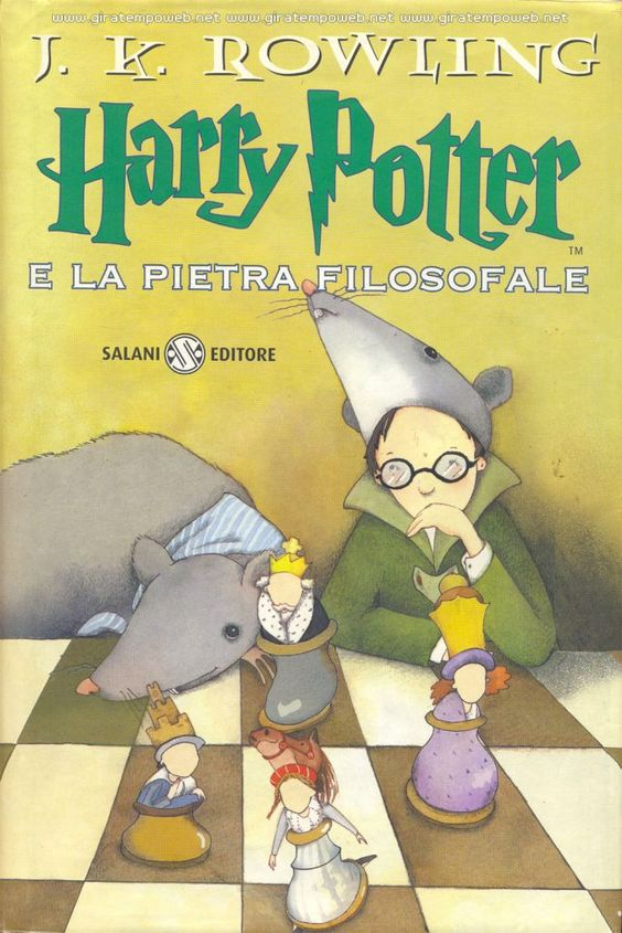 #Recensioninonrichieste 1/17 Harry Potter e la Pietra Filosofale