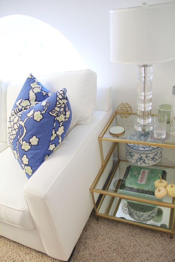 Guest Room Side Table - West Elm Torrence | Redefining Domestics
