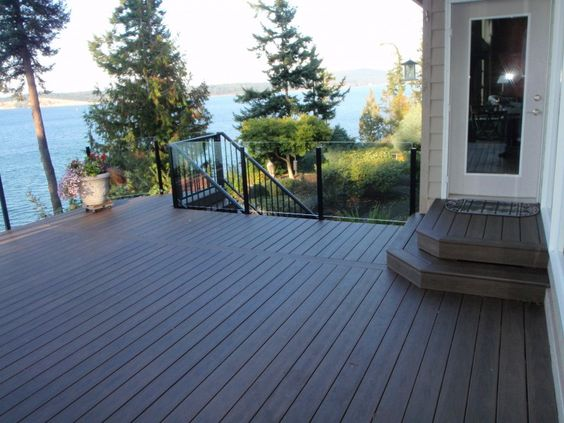 Cheapest Way To Cover A Deck | Outdoor Plastic Patio Flooring Options | ECO  WPC Balcony Decking | Pinterest | Flooring Options