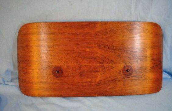 Original Herman Miller Eames Rosewood 1978 Back Shell Upper Panel Headrest 670 #HermanMillerEames