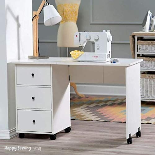 Sewing Table With Wheels