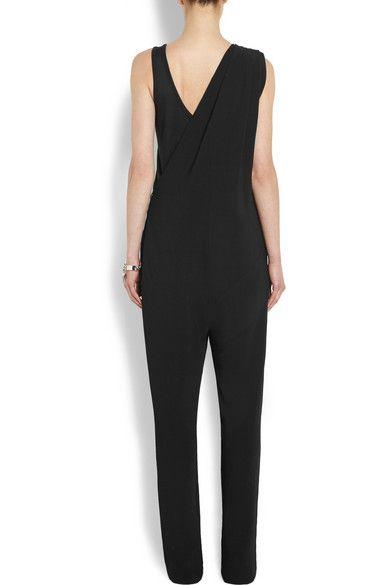 Givenchy | Black stretch-crepe jumpsuit | NET-A-PORTER.COM
