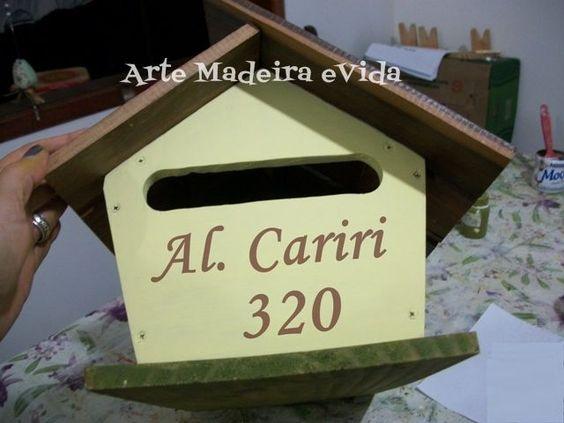 caixa de correio artesanal - Pesquisa Google