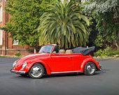 1970 Volkswagen Beetle Convertible Red #vw