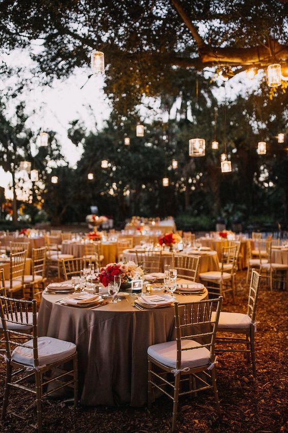 Elegant garden wedding venue