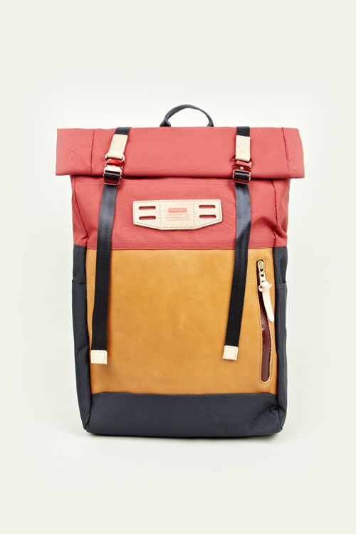 RED CORDURA HEDGE SATCHEL by MASTER-PIECE: SHOP