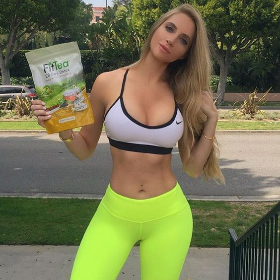 After not being able to workout for the past 2 months, I'm using @fittea to give me a boost and help me get my abs back! #finallybacktothegymthisweek #videoscomingsoon