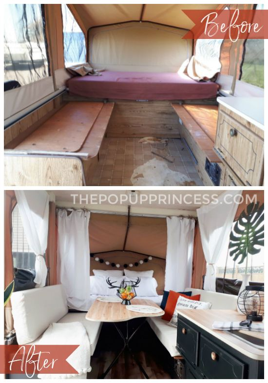 Manda S Starcraft Pop Up Camper Makeover Camper Makeover Pop Up