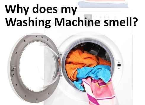 bad smell from washing machine