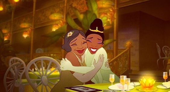 Tiana and mother Eudora, finale