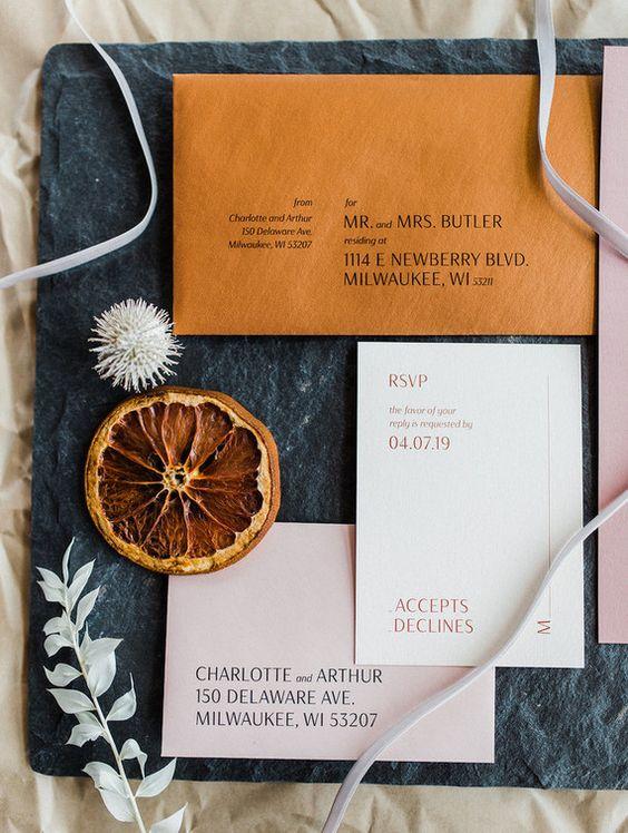 Jewel Tones and Rust Fall Wedding Colors #autumnwedding #color fall wedding ideas, fall bouquet, rust wedding color , jewel tones wedding color #wedding #fallwedding wedding stationery