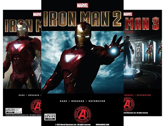 Marvels Iron Man 3 The Movie Prelude Collections (4 Book Series) @ niftywarehouse.com #NiftyWarehouse #IronMan #Iron-man #Marvel #Avengers #TheAvengers #ComicBooks #Movies
