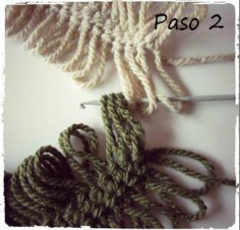 Aprender crochet - ganchillo tejer con horquilla, unión de las tiras sin usar hilo extra tutoriales