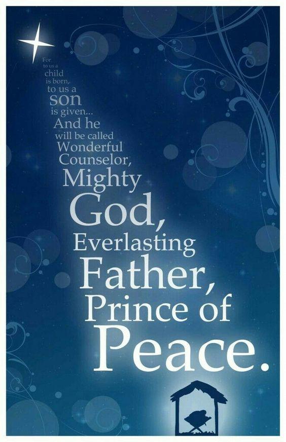 Isaiah 9:6 #Christmas